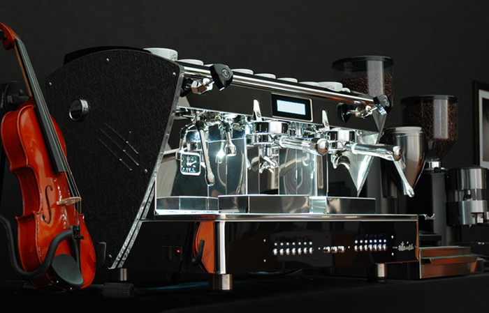 Etnica-Display-2-groups-E61-commercial-Orchestrale-coffee-machine-12M